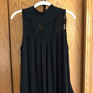 NWOT Apt 9 tank with lace top